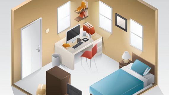 ארון הזזה עם מראה- עיצוב שונה לחדר השינה