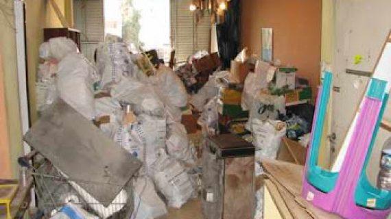 פינוי בתים של אגרנים כפייתיים