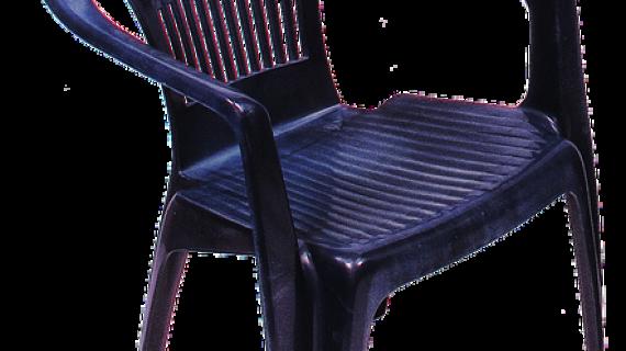 כסא פלסטיק קלאסי לגינה